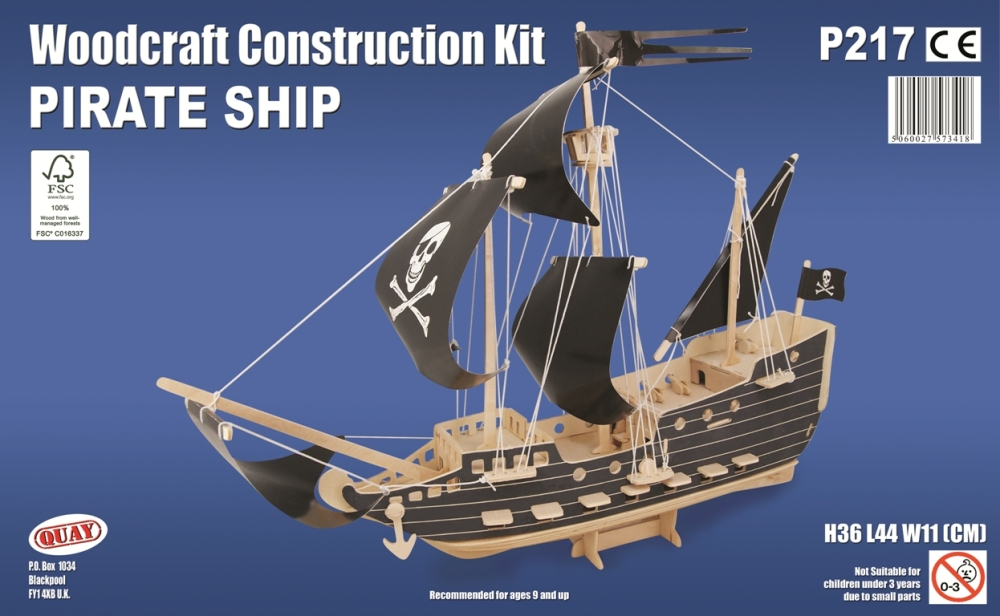 P217 Pirate Ship - Quay Imports Ltd
