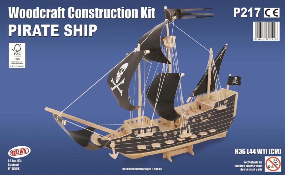 P217 Pirate Ship Quay Imports Ltd